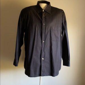 Men's Brioni button down shirt